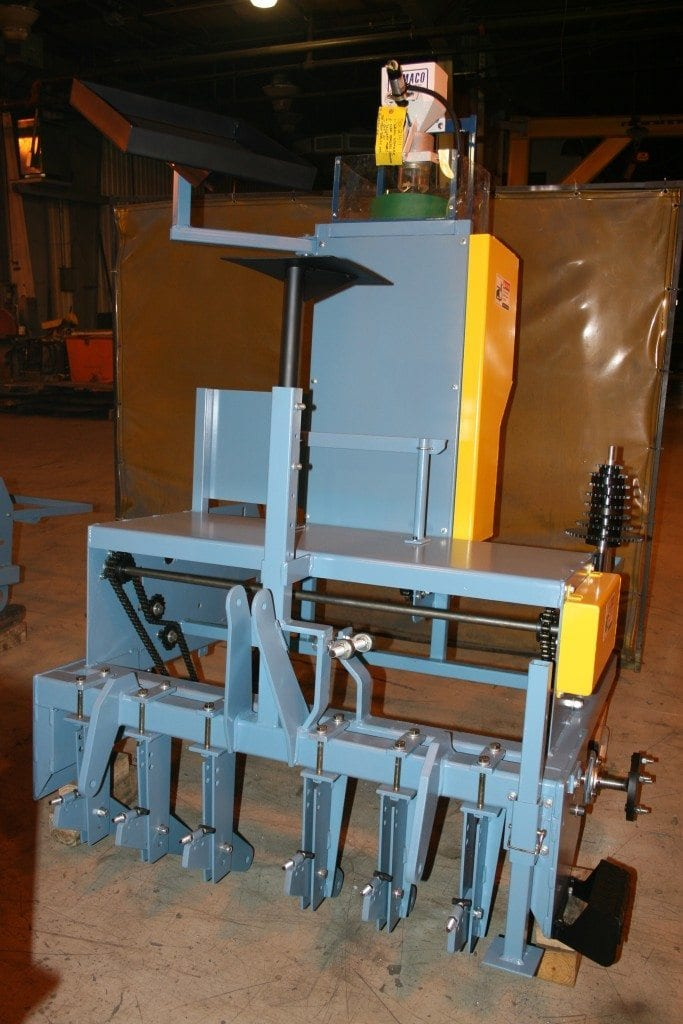 States Engineering Custom Planter for Agricultural Industry