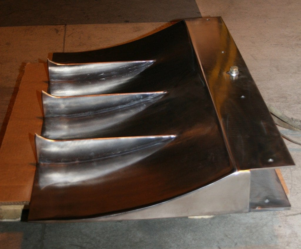 States Engineering - Custom Stainless Steel Blade for Dow Corning