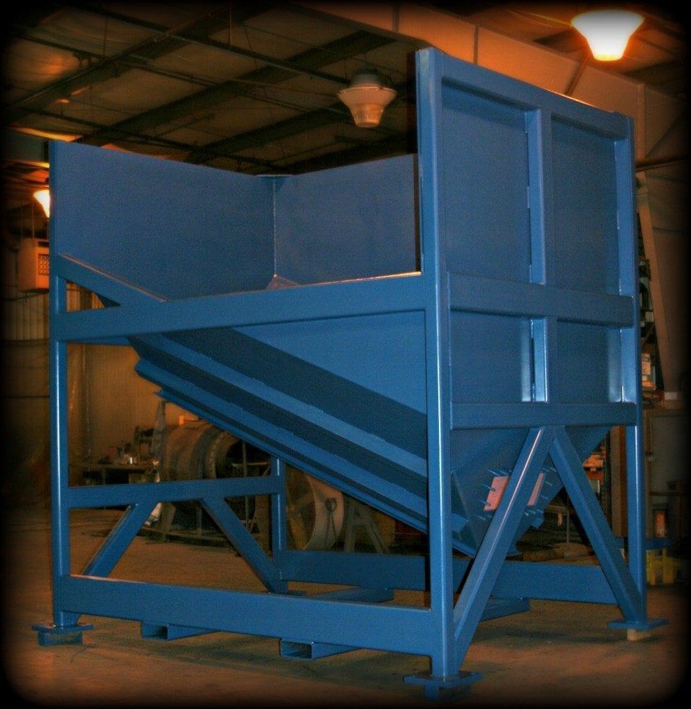 States Engineering custom fabricated hopper