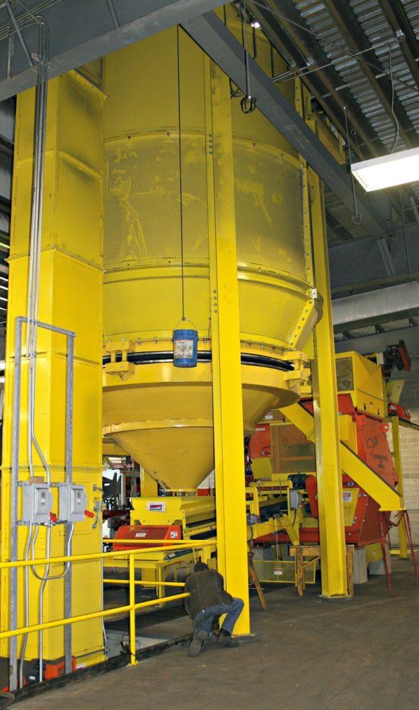 States Engineering – Bucket Elevator – Feeder Belt – Ringmullor – Storage Bin – Sand System