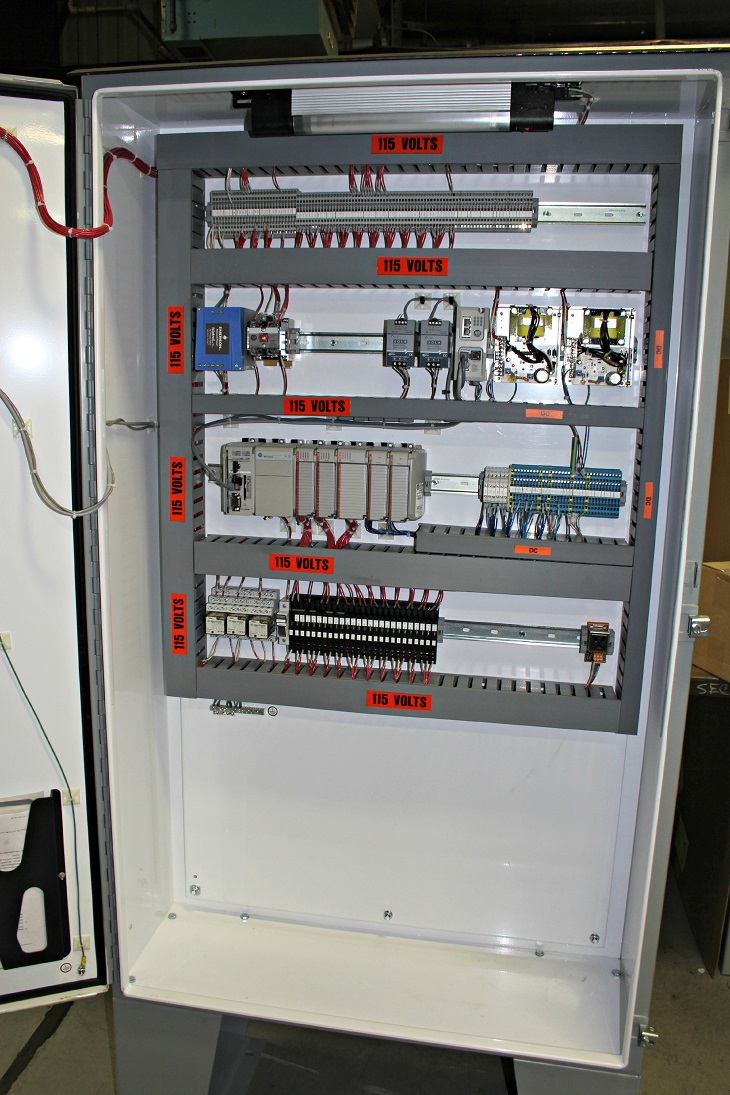 States Engineering – Sand system control panel