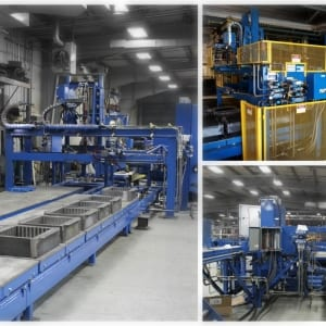 States Engineering mold line – non ferrous sand system
