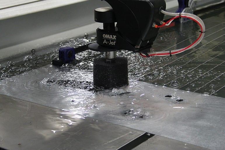 States Engineering Waterjetting Ajet Head Cutting